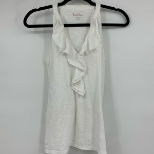 Lily Pulitzer Women's tank top white small X372